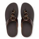Fitflop - Halo Tortoiseshell Toe Post Chocolate Brown thumbnail